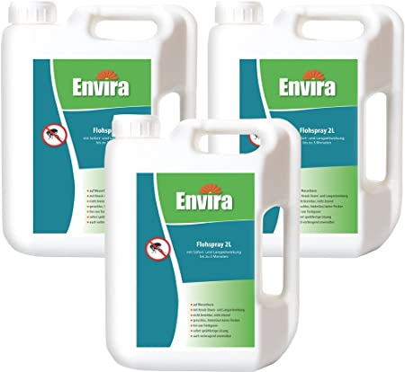 Envira Floh Spray Anti Floh Mittel Mit Langzeitwirkung