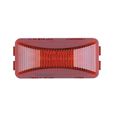"Maxxima M20320R Red 2-1/2"" Rectangular LED Clearance Marker Light: Automotive"