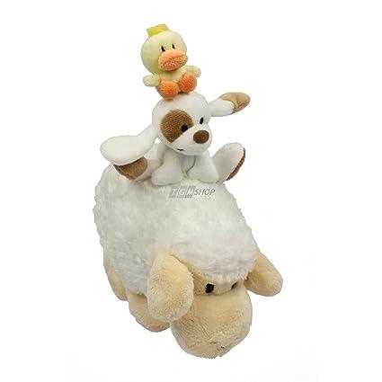Mylo+Friends Músicos Peluches (ovejas, perro, pollo) á la ciudad de