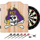 NCAA East Carolina University Wood Dart Cabinet Set