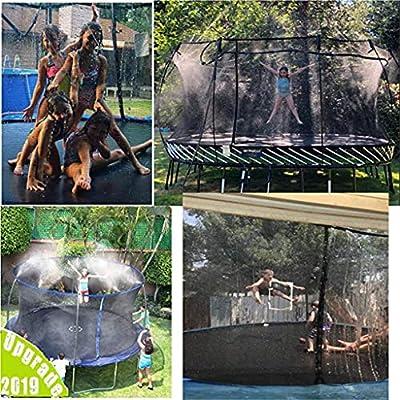 Wouke Trampoline Sprinklers,Outdoor Water Play Sprinklers for Kids,Park Fun Summer Water Toy, Outdoor Trampoline Water Play Sprinklers for Kids (A): Beauty
