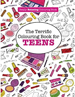 the terrific colouring book for teens a really relaxing colouring book - Coloring Books For Girls