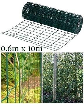 Garden Mile 0 6m X 10m Garten Grenze Zaun Schwer Arbeiten