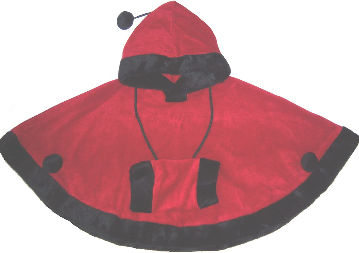 Coolwear Girls Red Riding Hood+Free Muff Outerwear Size:2T-7 Christmas Red J.J