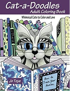 Cute Cats Adult coloring books Volume 1 Cat Coloring Books