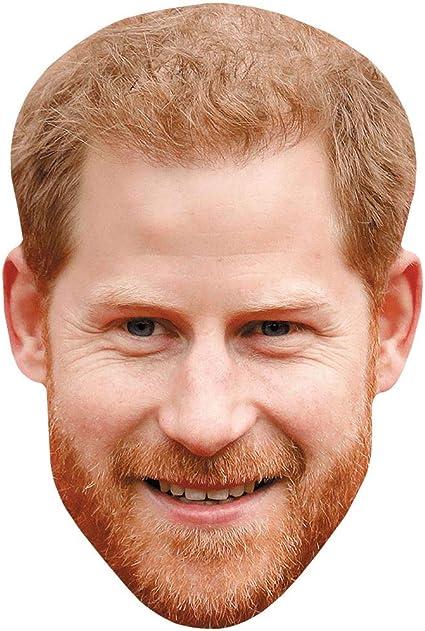 Peter Maffay Maske aus Karton Smile
