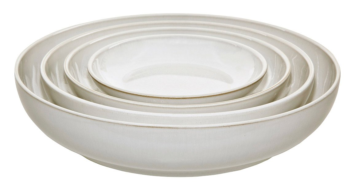 Denby Natural Canvas Nesting Bowl Set, Cream, Set of 4 375041650