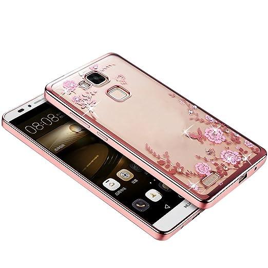 2 opinioni per Skitic Elegante Farfalla Fiori Custodia per Huawei Ascend Mate 7, UltraSlim