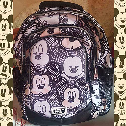 Oh Karactermania Disney cm Boy Casual L Black HS 44 Daypack Backpack Classic Running Mickey 21 tFfwFqr