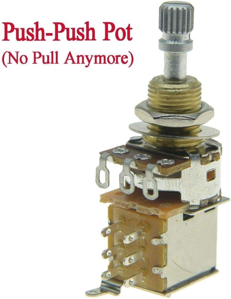 amazon.com: kaish guitar bass push push pot(no pull anymore ... push pull b250k potentiometer wiring diagram  amazon.com