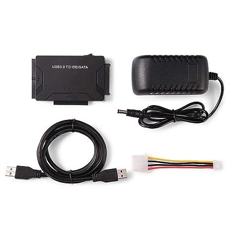 Amazon.com: Hard Disk Universal Adapter Converter USB 3.0 to ...