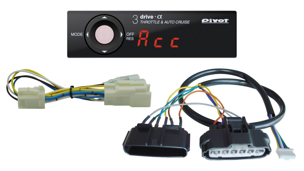 PIVOT ( ピボット ) スロコン 3-driveα 3DA (クルスロ) 専用ハーネス3点セット【3DA / TH-2A / BR-5】3DA-2A-5 B008KCCVOI