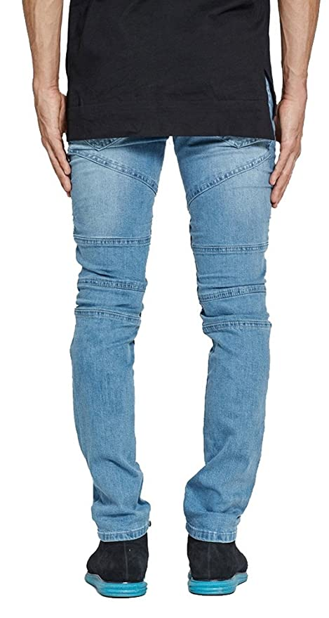 Clothing, Shoes & Accessories Enthusiastic Fredd Marshall Gray Lined Skinny Jeans Men's 30