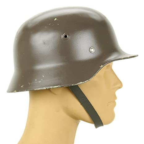 Original German M40 WWII Type Steel Helmet- Finnish M40/55, Size 58cm, US 7  1/4