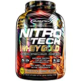 MuscleTech NitroTech Whey Gold, 100% Whey Protein Powder, Whey Isolate and Whey Peptides, Chocolate Peanut Butter, 5.5 Pound For Sale