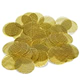 500 Beamer Premium Brass Screens 0.750' (3/4') Inch Size + Limited Edition Beamer Smoke Sticker……