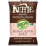 Kettle Brand Potato Chips, 100% Avocado Oil, Himalayan Salt, 4.2 Ounce