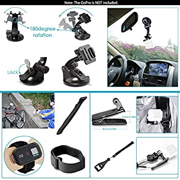 Neewer 44-in-1 Action Camera Accessory Kit, Compatible With Gopro Hero 45 Session, Hero 1233+456, Sj40005000, Nikon & Sony Sports Dv In Swimming Rowing Climbing Bike Riding Camping & More 5