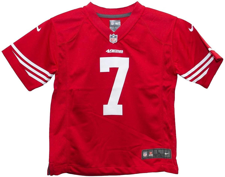 f3d5667cc1b Amazon.com  Colin Kaepernick San Francisco 49ers Red Youth Nike Game Jersey  (Youth medium)  Clothing
