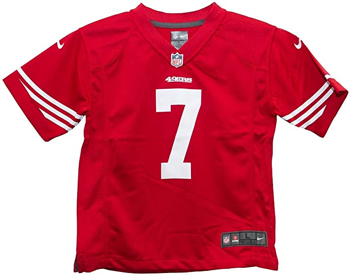 0b61a0ca57b ... closeout colin kaepernick san francisco 49ers red youth nike game jersey  youth medium ae72c 6c786