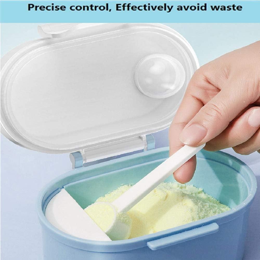 BESLIME Distributeur de lait en poudre Blue r/écipient /à lait portable Baby Bo/îte de Conservation Lait en Poudre Formule Distributeur,800ML