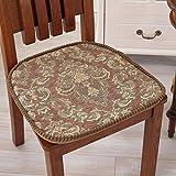 modern dining chair cushion/Thickened all seasons washable seat cushion-B 46x47cm(18x19inch)