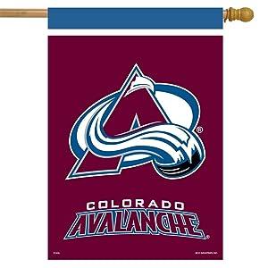 Colorado Avalanche House Flag Hockey Licensed 28