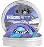 Crazy Aaron Thinking Putty, Twilight, 2'' L, Hyper color