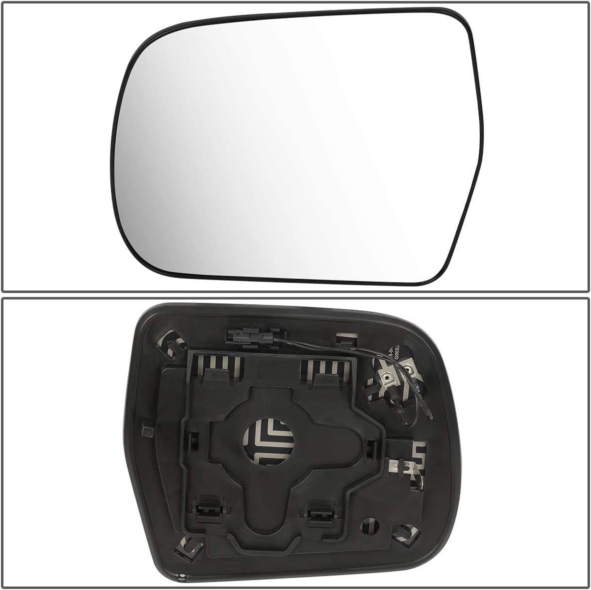 8796148160 OE Style Driver//Left Heated Mirror Glass Lens for Toyota Highlander 01-07