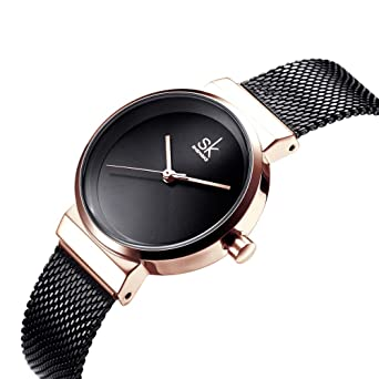 SHENGKE Fasion Women Watches Quartz Ladies Watch Elegant Slim Mesh Steel Waterproof Wristwatch reloj de Mujer