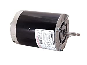 A.O. Smith BV90 1 HP, 3450 RPM, 1 Speed, 115 Volts, 10 Amps, 1 Service Factor, 48Y Frame, split phase, ODP Enclosure, Thru-Bolt Pool Motor