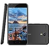 Ulefone Power 2 Smartphone 4G Android 7.0 (MT6750T 1.5GHz Octa Core, 5.5'' IPS HD Schermo, 4GB RAM 64GB ROM, 8MP+13MP Camera, Fingerprint ID, Dual SIM, HotKnot, Carica rapido, Super Power Saving Mode, 6050mAh ) Nero