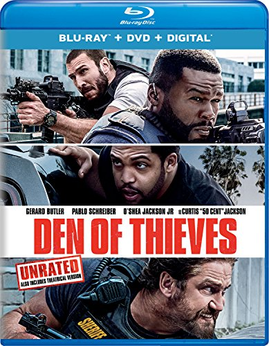 Blu-ray : Den Of Thieves (With DVD, 2 Pack, Digital Copy, 2PC)