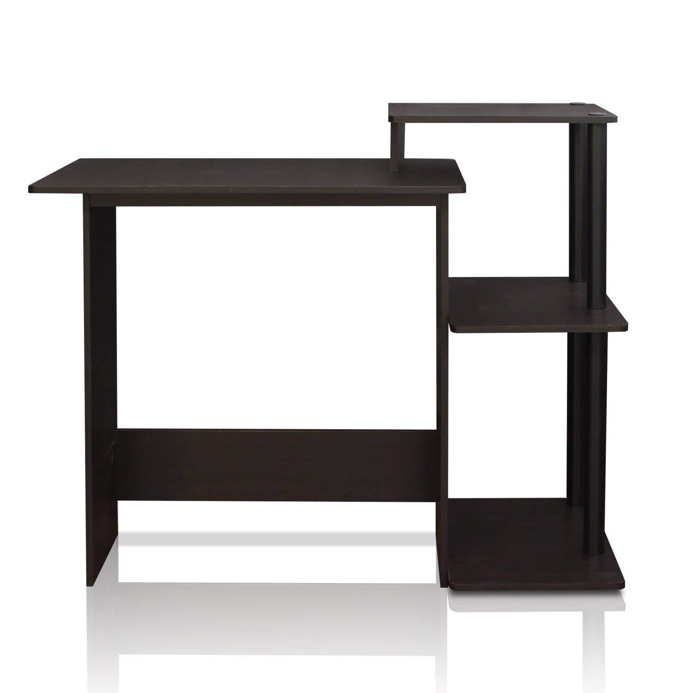Furinno 11181BK/GY Compact Computer Desk (Renewed)