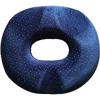 Blesiya Donut Ring Tailbone Coccyx Seat Cushion Pressure Relief Pillow for Hemorrhoid