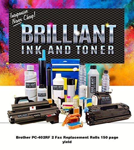 BRILLIANT Ink and Toner Ribbon 150 - Black - PC402RF-BRL