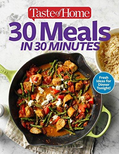 30 Meals in 30 Minutes by Tast Mag, Taste Mag