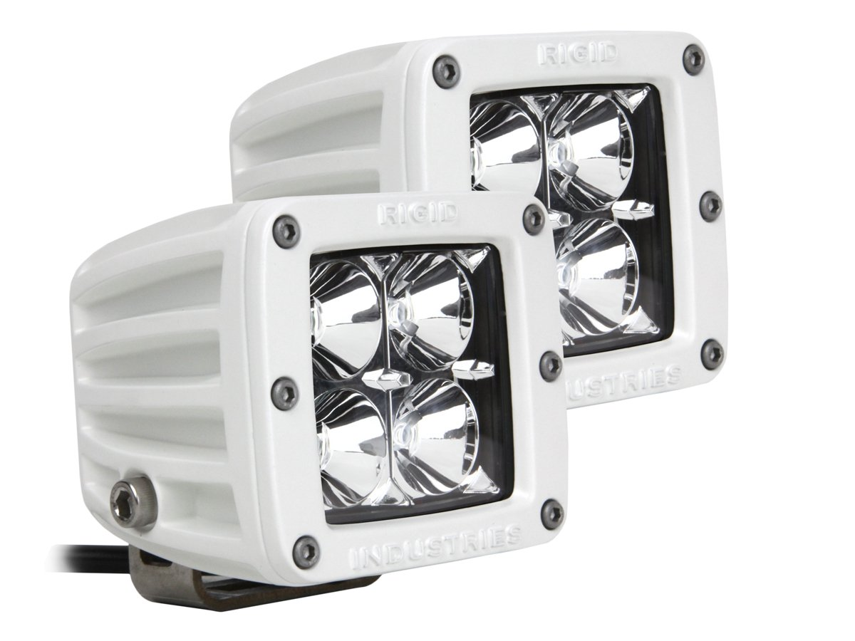 Rigid Industries 60211 LED Light M-Series Dually Flood Set of 2