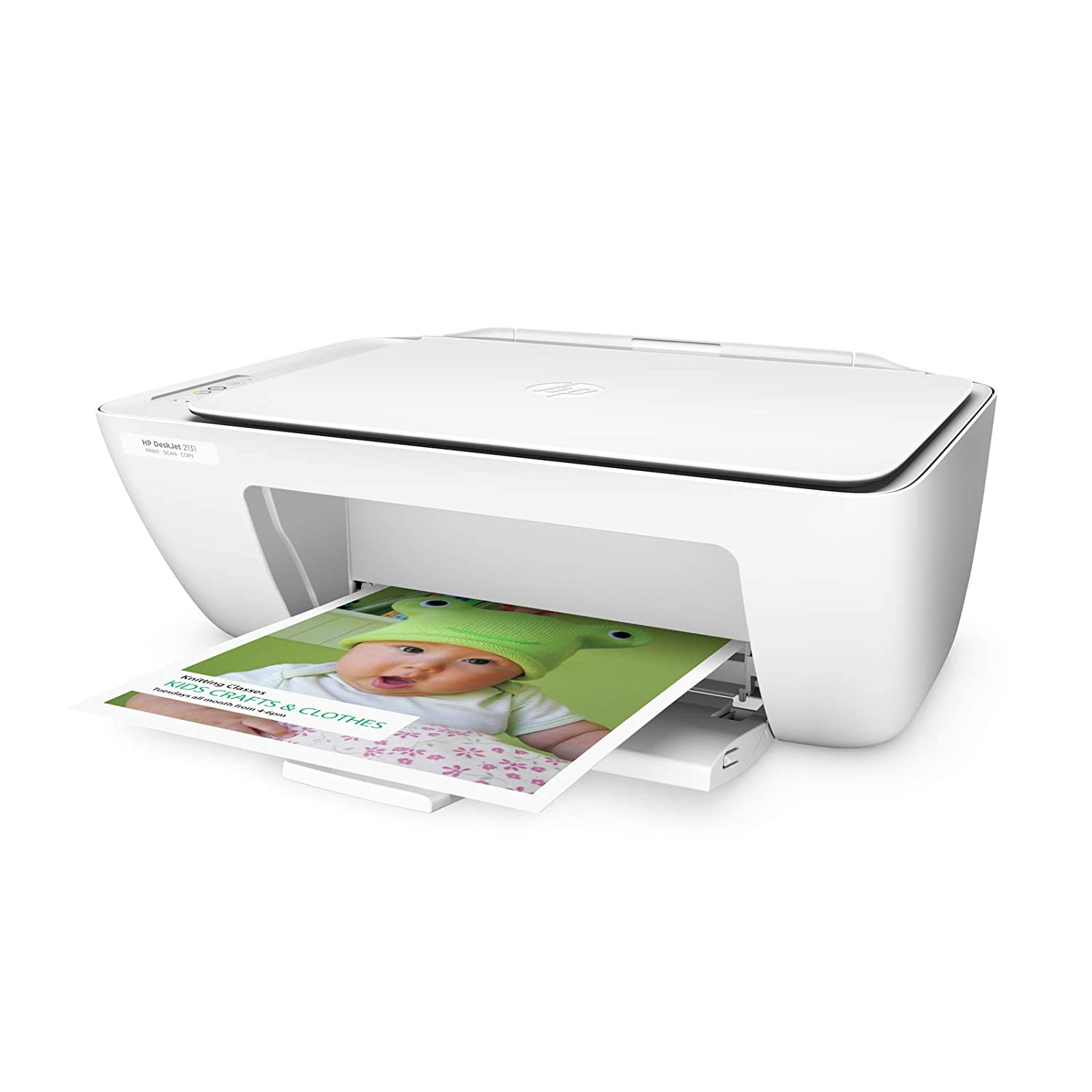 Amazon.in: Buy HP DeskJet 2131 All-in-One Inkjet Colour Printer Online at  Low Prices in India | HP Reviews & Ratings