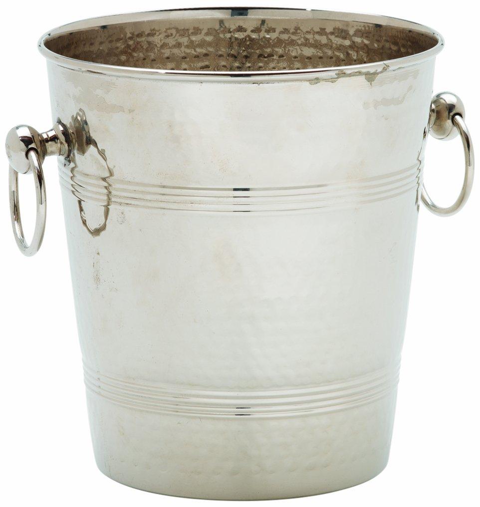 Alegacy 79501 Hammered Wine Bucket, Stainless Steel