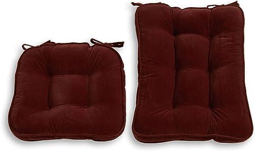 South Pine Porch Hampton Standard 2-pc Rocking Chair Cushion Set