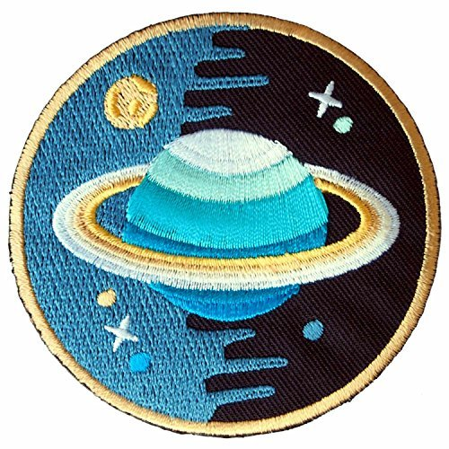 Buy Cheap Saturn Stars Universe Embroidered Iron on Patch