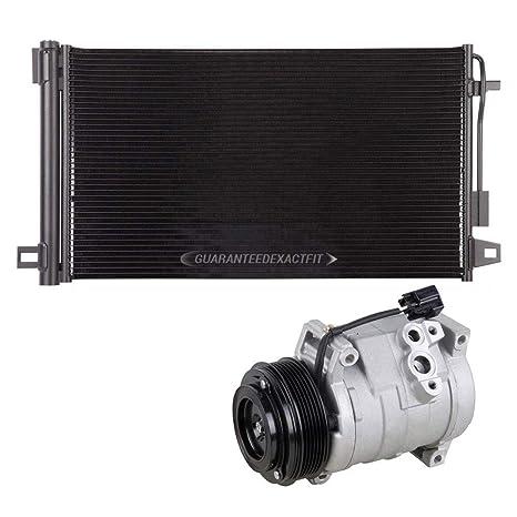 Marca nueva AC Compresor + a/c condensador y secador para Buick Chevy GMC &