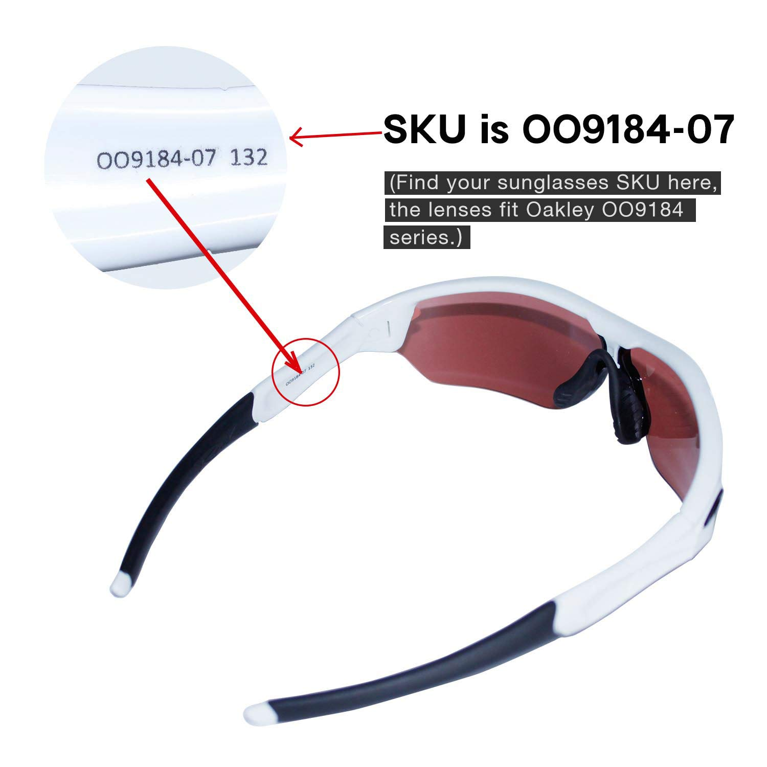 af898286937fc Amazon.com  Walleva Replacement Lenses for Oakley Radar Edge- Multiple  Options (24K Gold Mirror Coated - Polarized)  Clothing