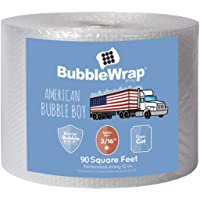 """Official Sealed Air Bubble Wrap- 90 feet x 3/16"""" x 12"""" - Perforated Every 12"""" - American Bubble Boy"""