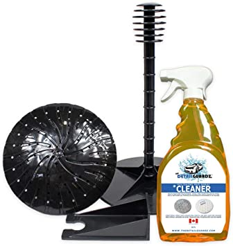 The Detail Guardz Dirt Lock Pad Washer System Attachment Without Spray Cleaner Black