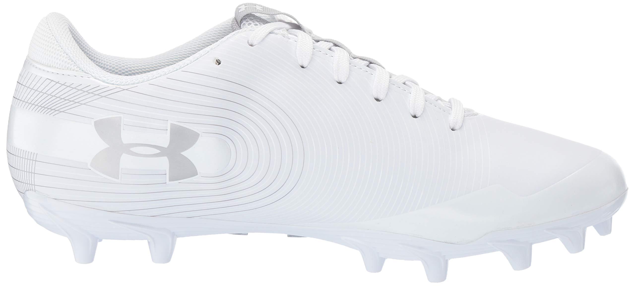 Under Armour Men's Speed Phantom MC Football Shoe, White/White, 7.5 M US by Under Armour (Image #6)