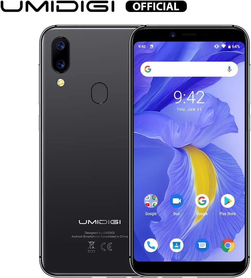 UMIDIGI A3 versión actualizada Android 9 Pie Smartphone ...