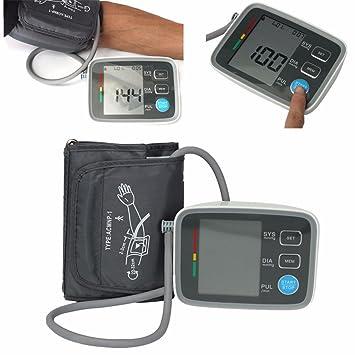 Brazo Tensiómetro, elegiant LCD Automática - Tensiómetro Digital Smart Tensiómetro Pulso Medidor Cuchillo: Amazon.es: Informática