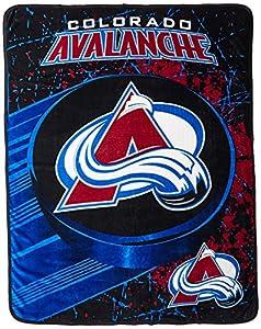 "NHL Ice Dash Micro Raschel Throw, 46"" x 60"""